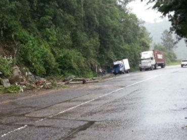 Alertan posible colapso de la carretera de occidente por últimas lluvias